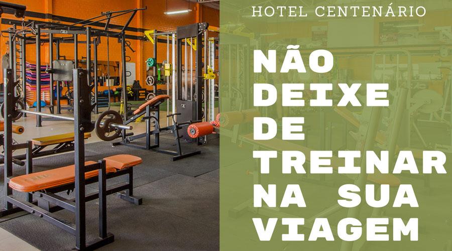 HOSPEDE-SE NO HOTEL CENTENÁRIO EM TRAMANDAÍ E TREINE EM UMA ACADEMIA COMPLETA!